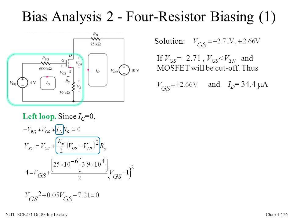 Bias Analysis 2 - Four-Resistor Biasing (1)