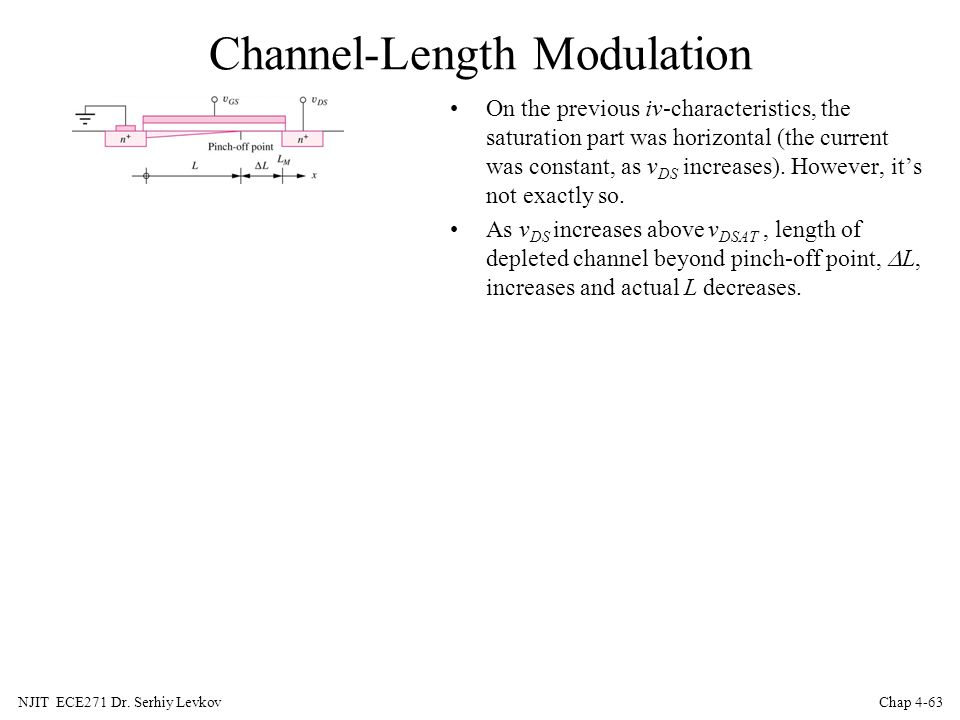 Channel-Length Modulation