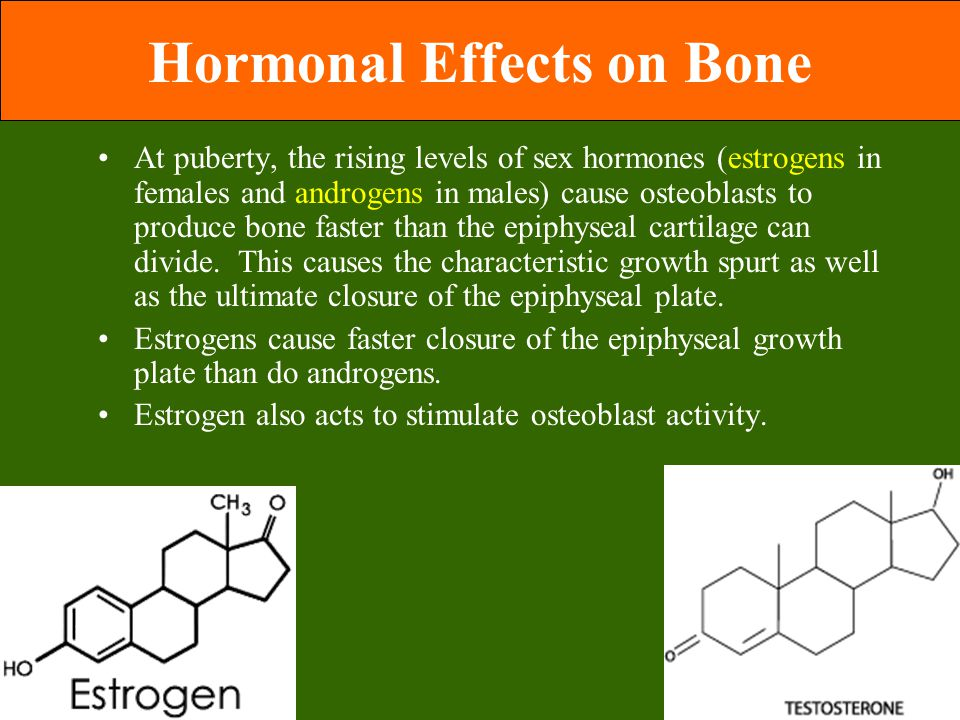 Hormonal Effects on Bone