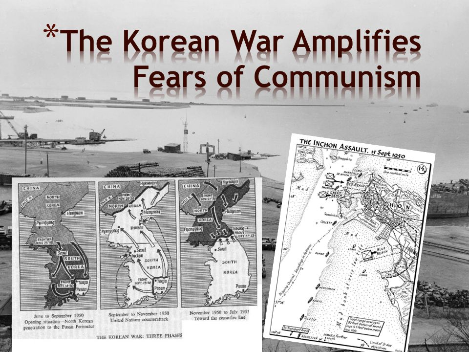 The Korean War Amplifies Fears of Communism