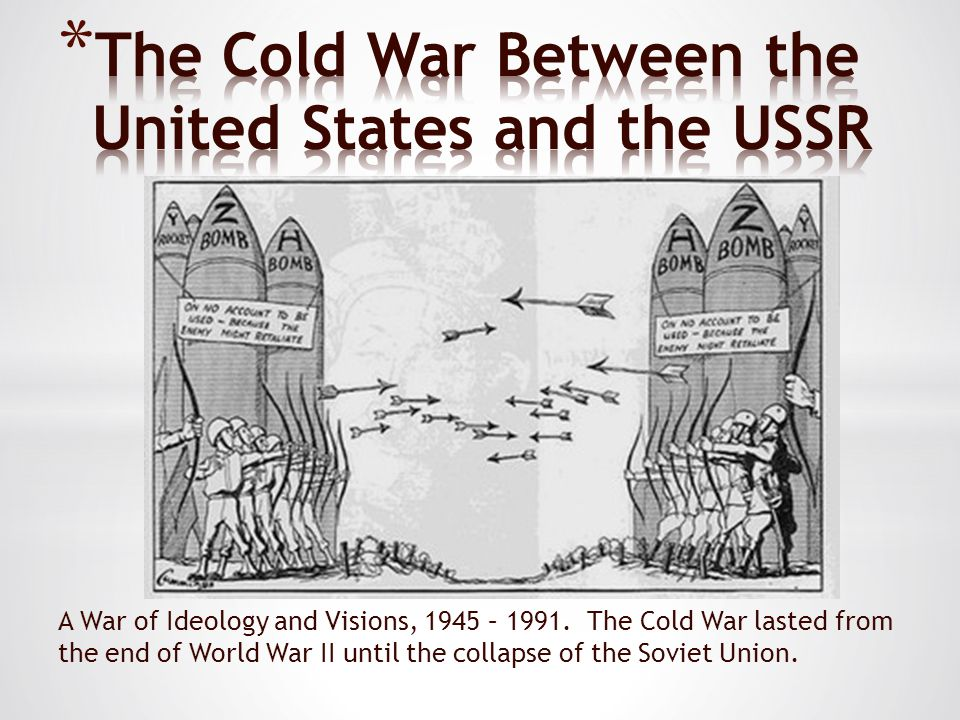 List of primary and secondary sources on the Cold War