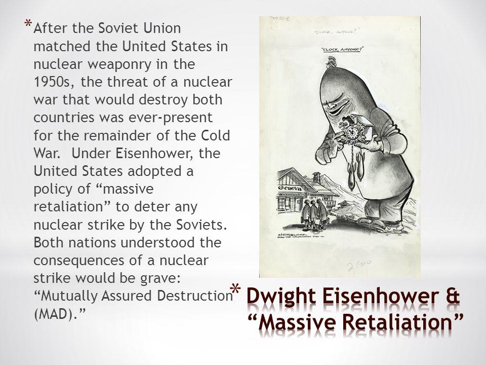 Dwight Eisenhower & Massive Retaliation