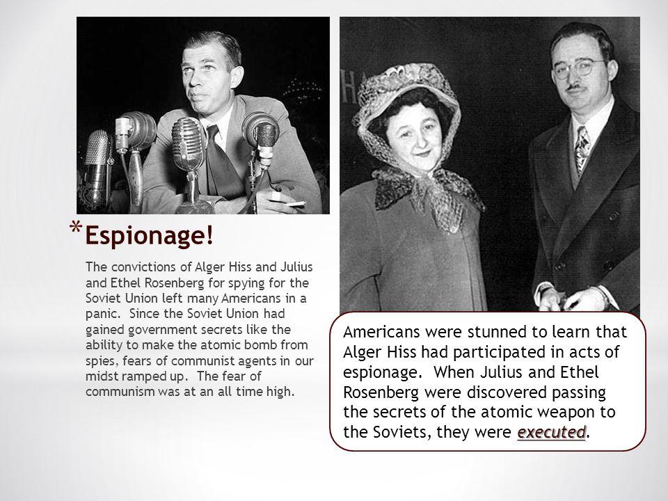 Espionage!