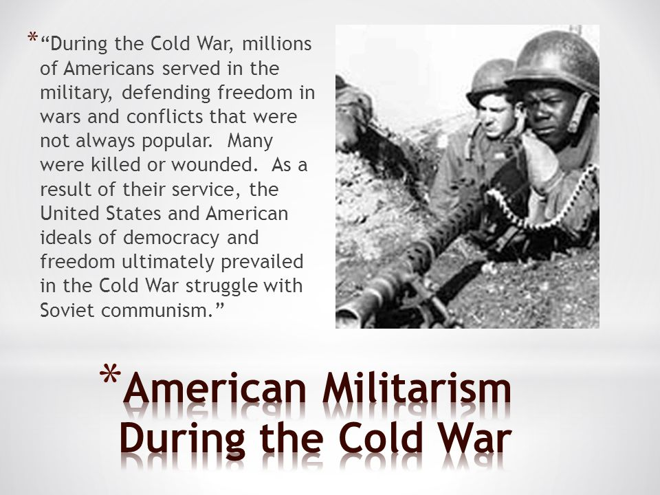 American Militarism During the Cold War