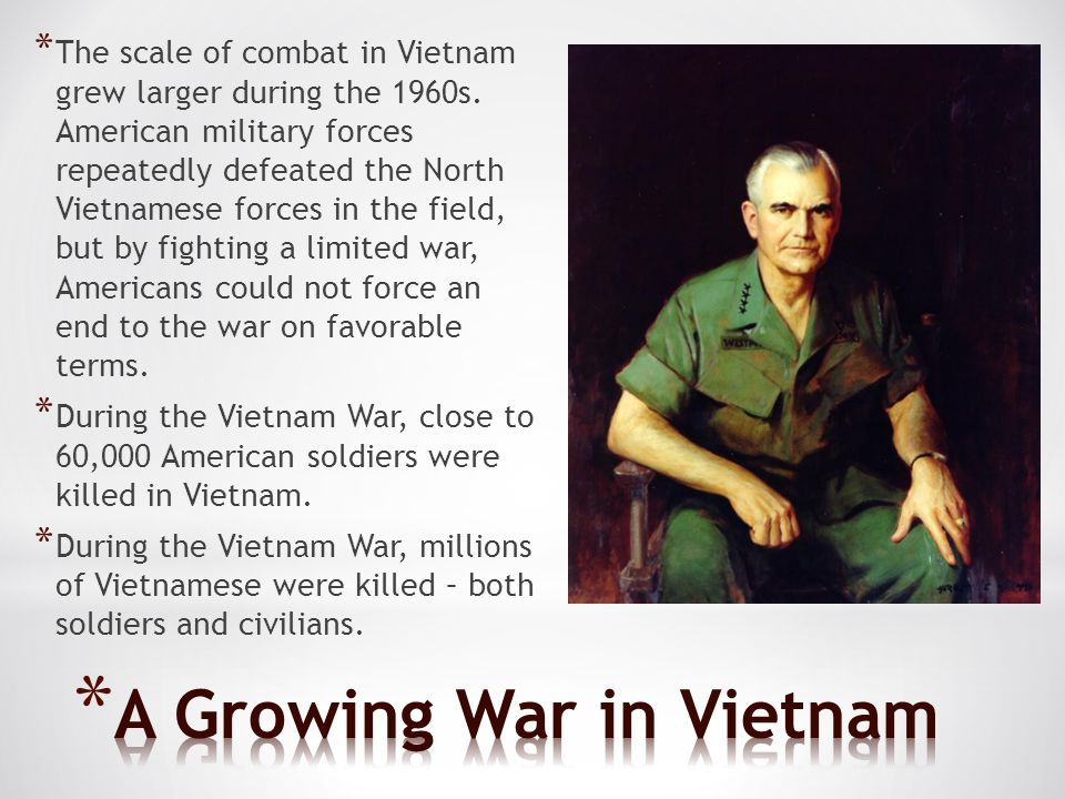 A Growing War in Vietnam