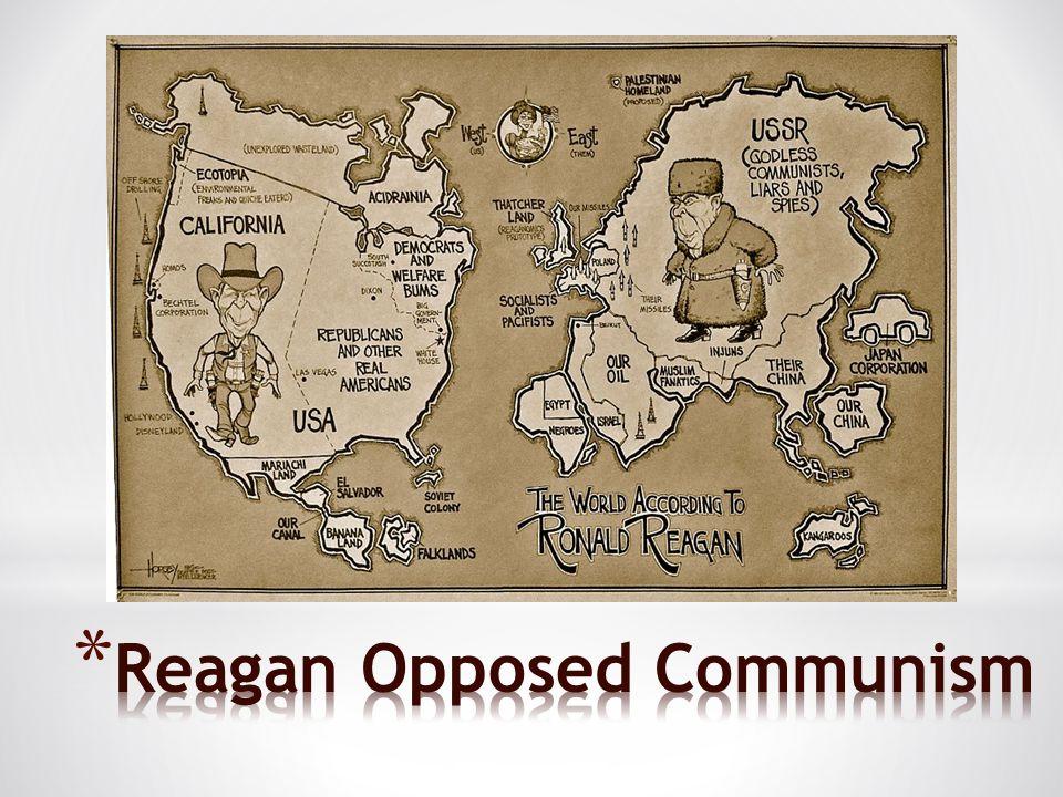 Reagan Opposed Communism