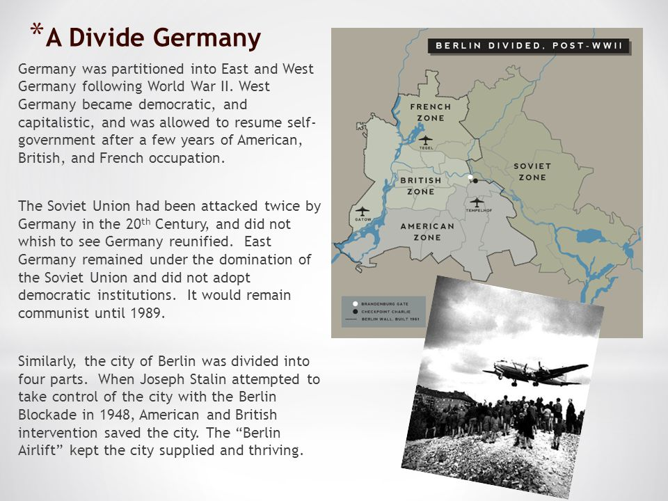 A Divide Germany