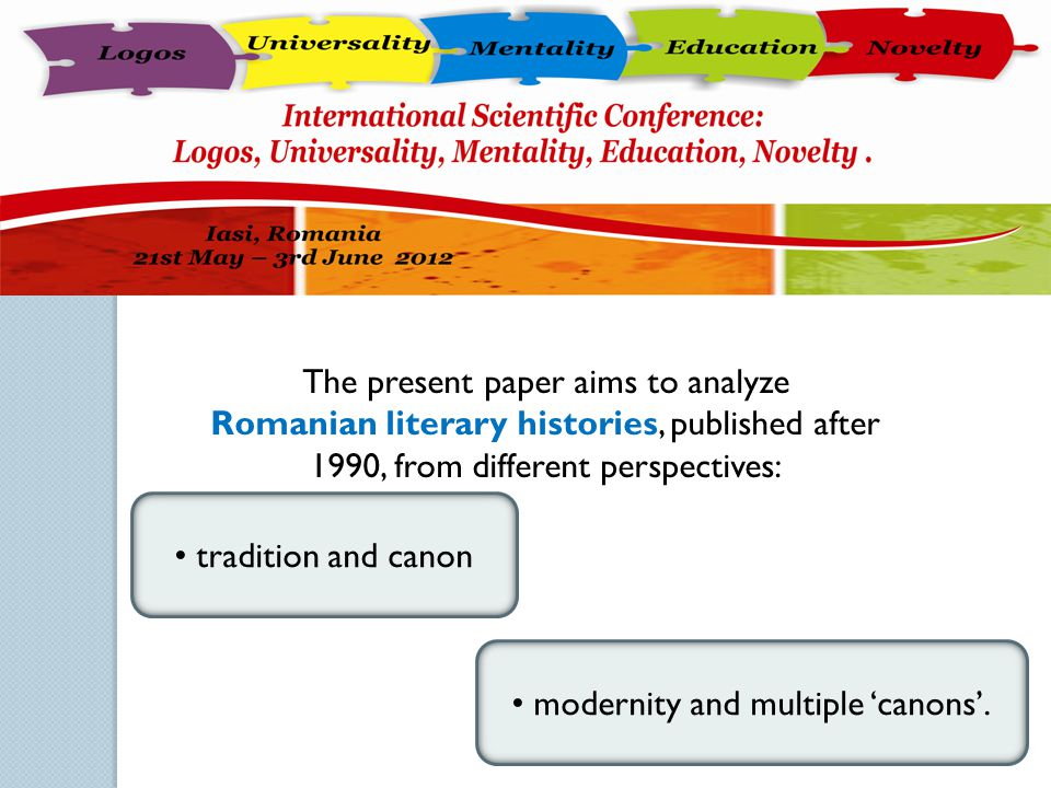 The present paper aims to analyze