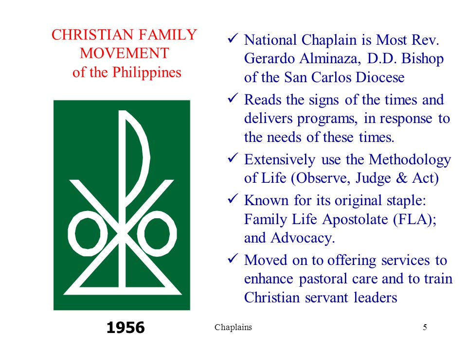 CHRISTIAN FAMILY MOVEMENT of the Philippines