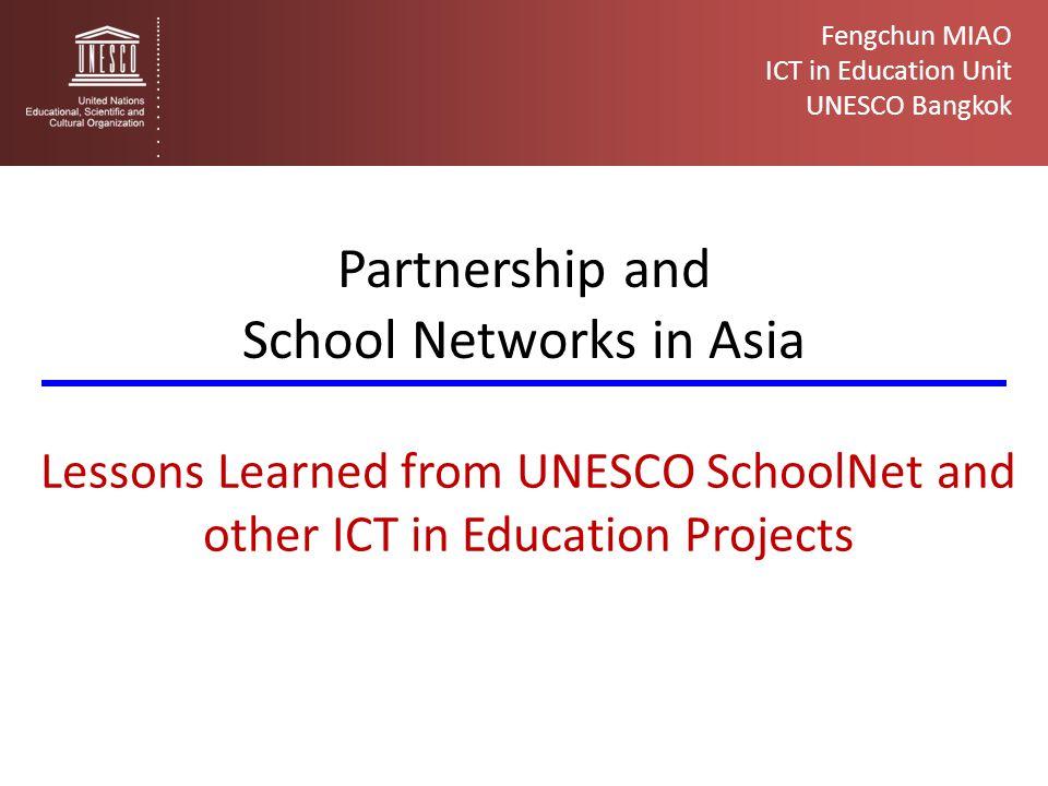 School Networks in Asia