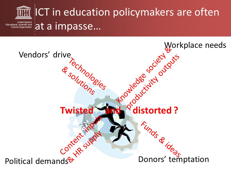 ICT in education policymakers are often at a impasse…