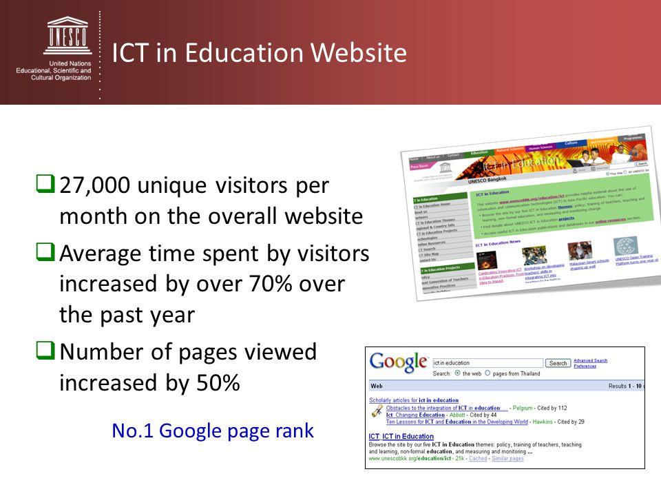 ICT in Education Website