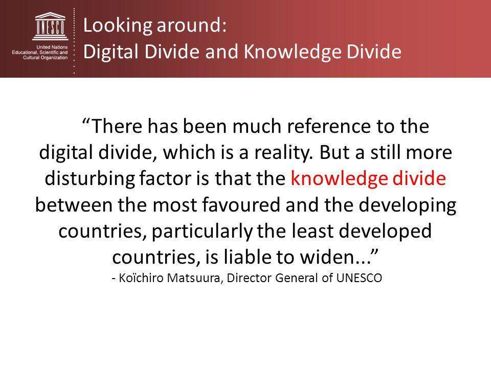 - Koïchiro Matsuura, Director General of UNESCO