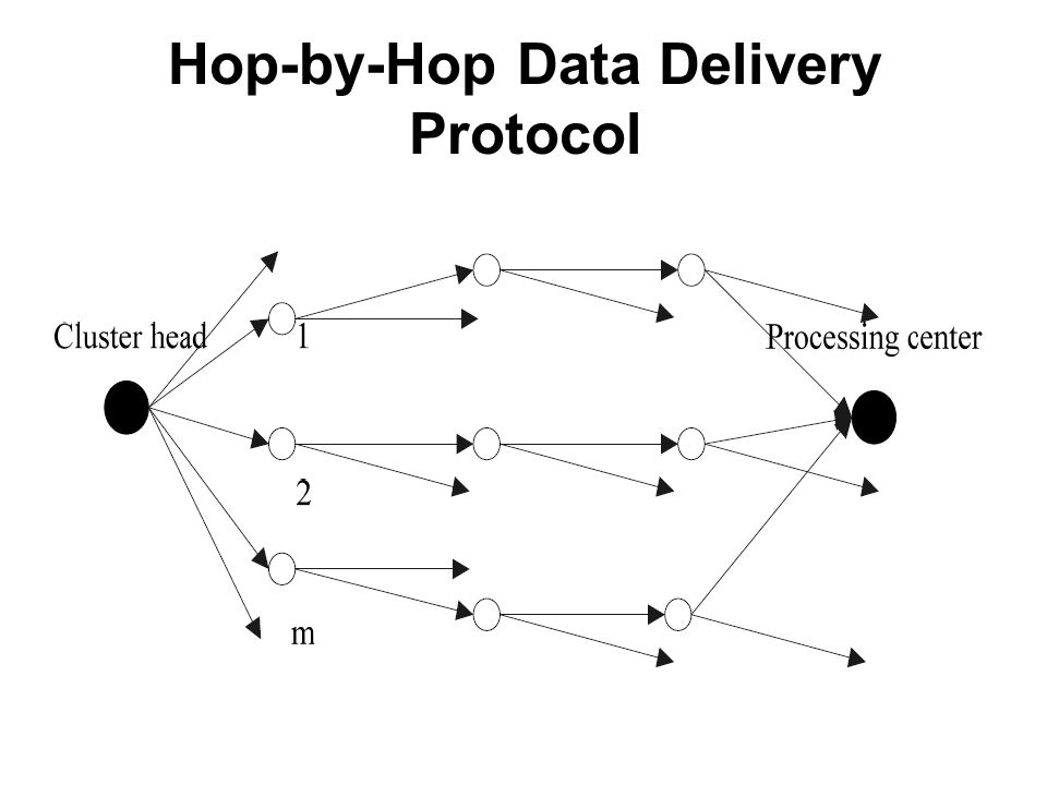 Hop-by-Hop Data Delivery Protocol