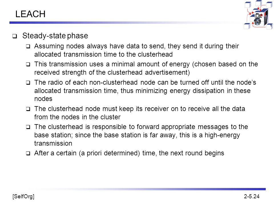 LEACH Steady-state phase