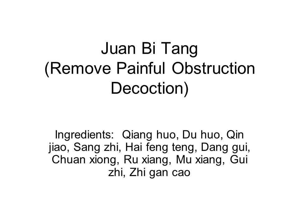 Juan Bi Tang (Remove Painful Obstruction Decoction)