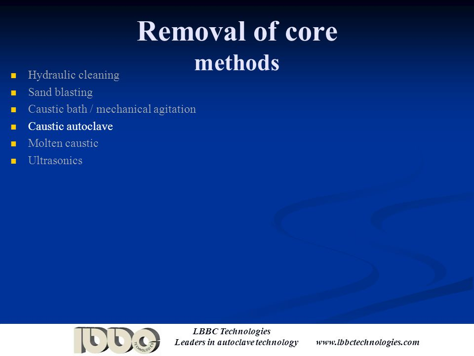 Removal of core methods