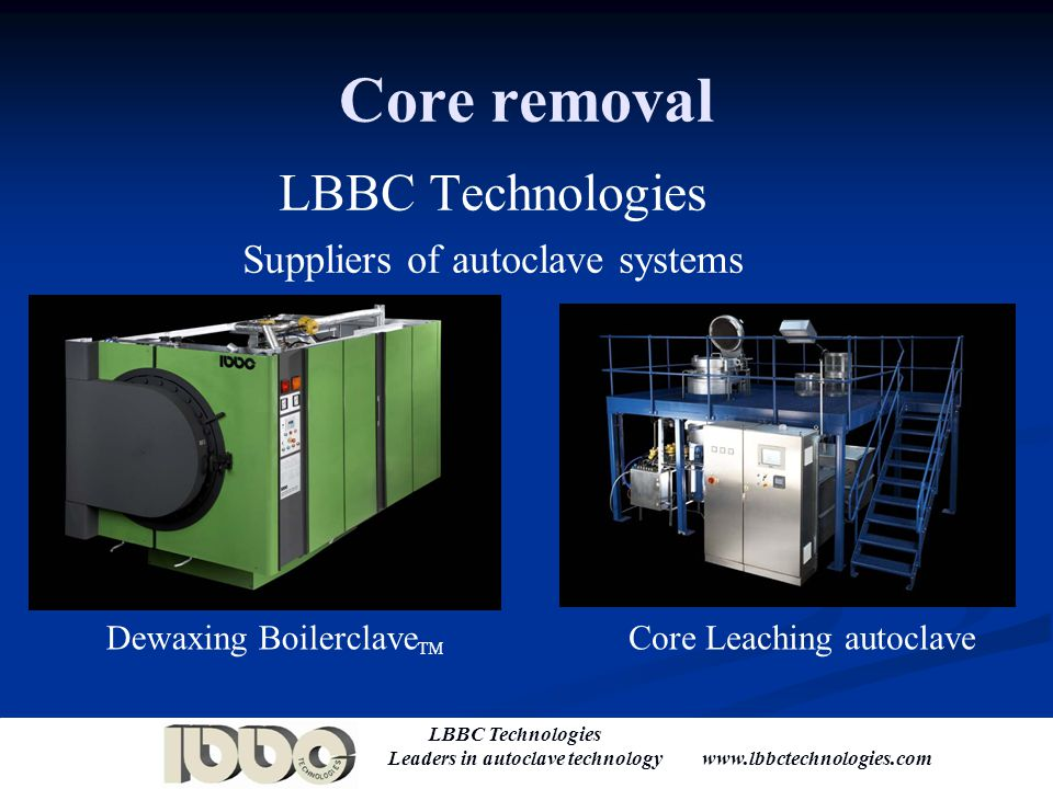 Suppliers of autoclave systems
