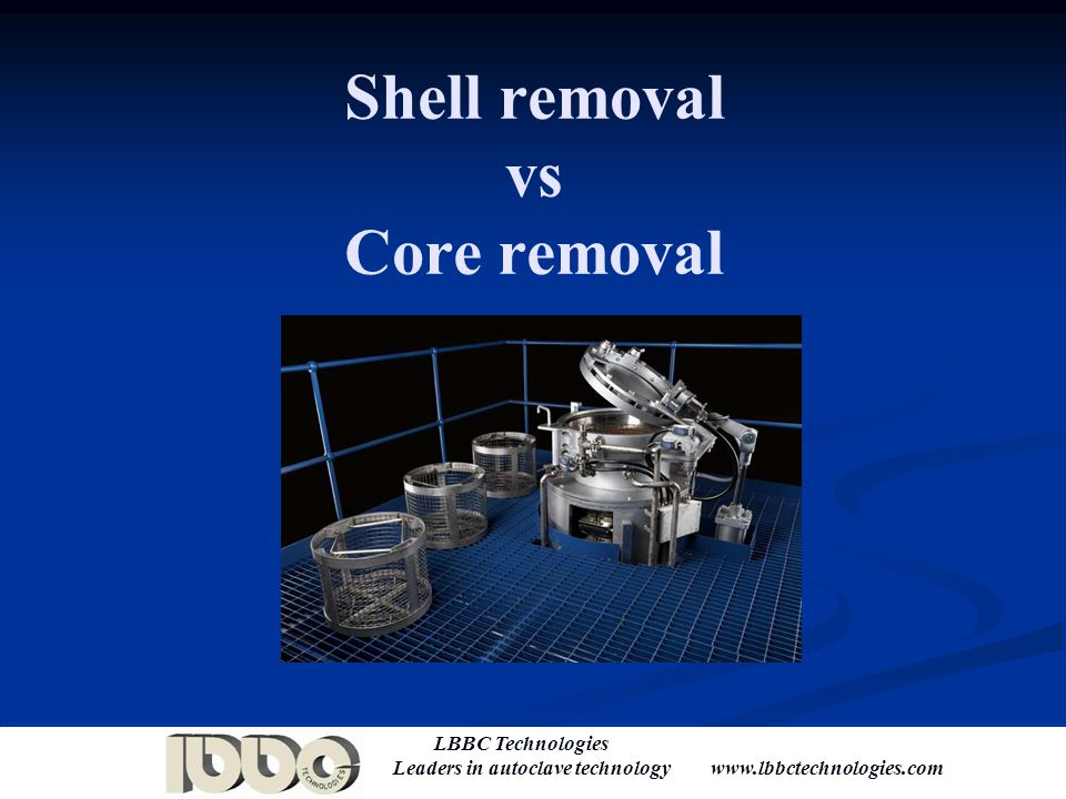 Shell removal vs Core removal