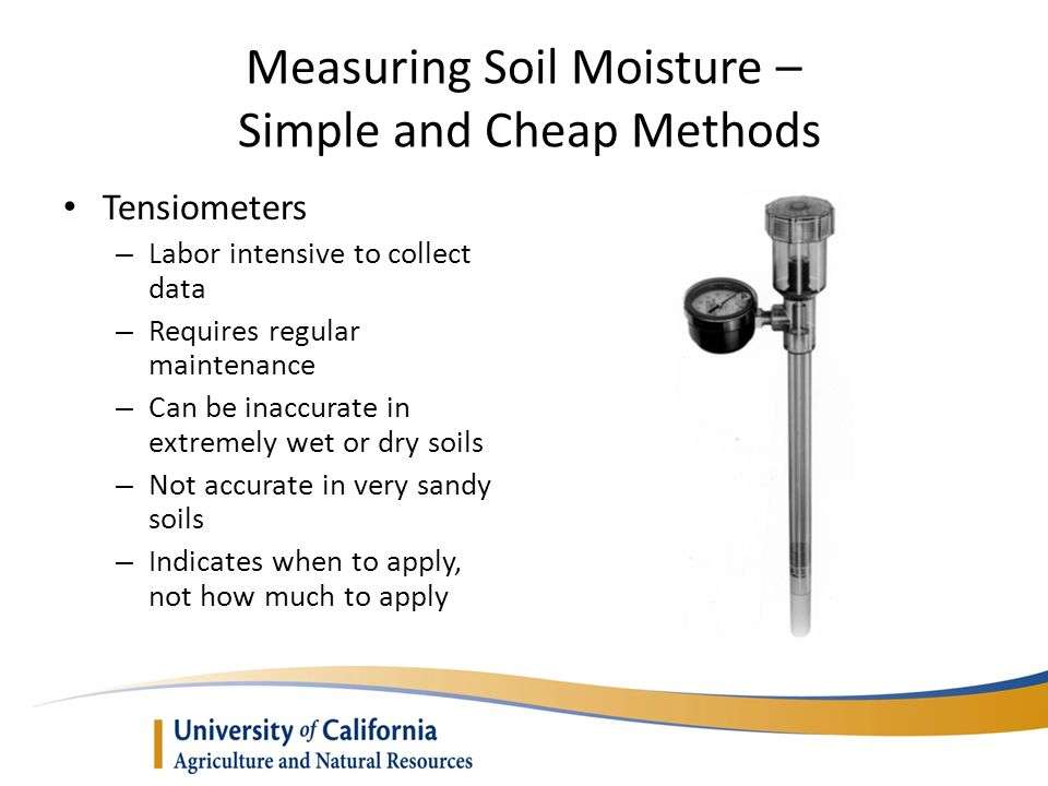 Measuring Soil Moisture – Simple and Cheap Methods