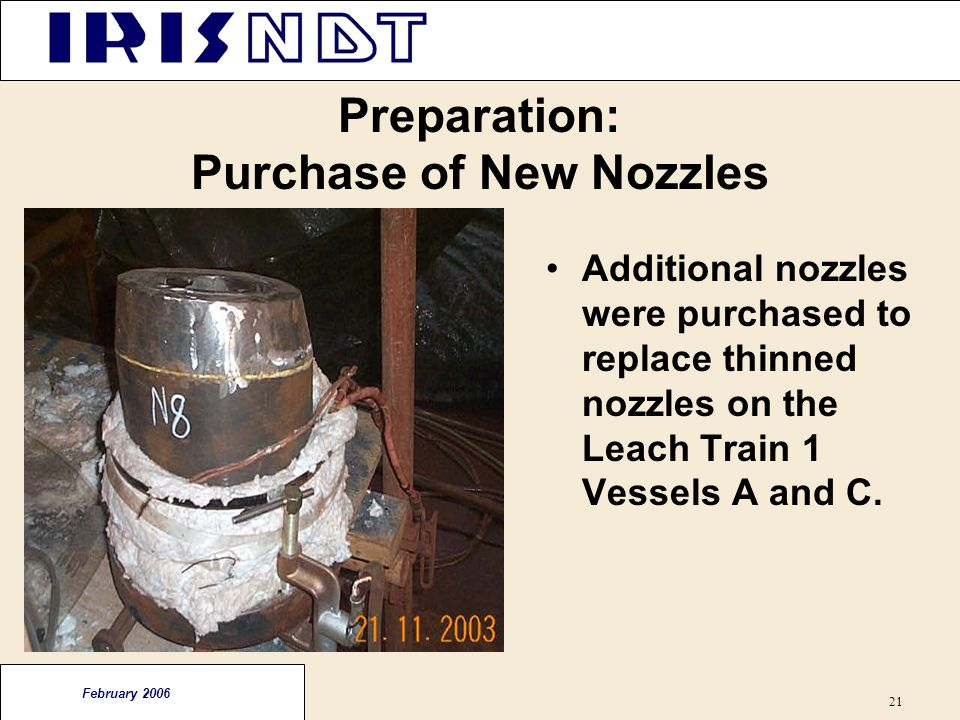 Preparation: Purchase of New Nozzles