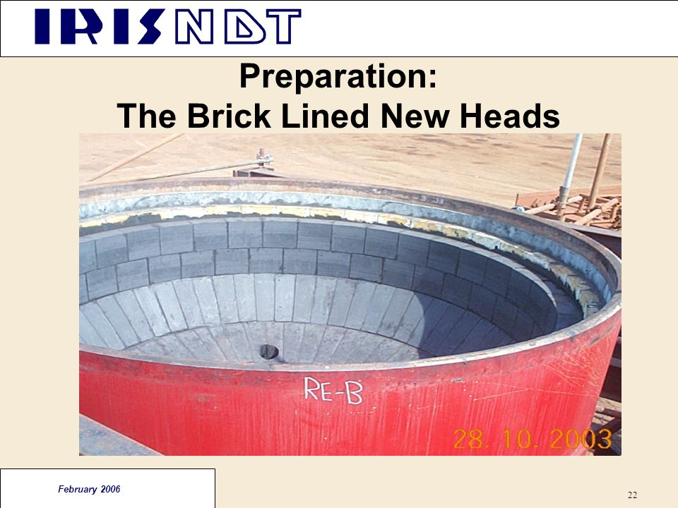 Preparation: The Brick Lined New Heads
