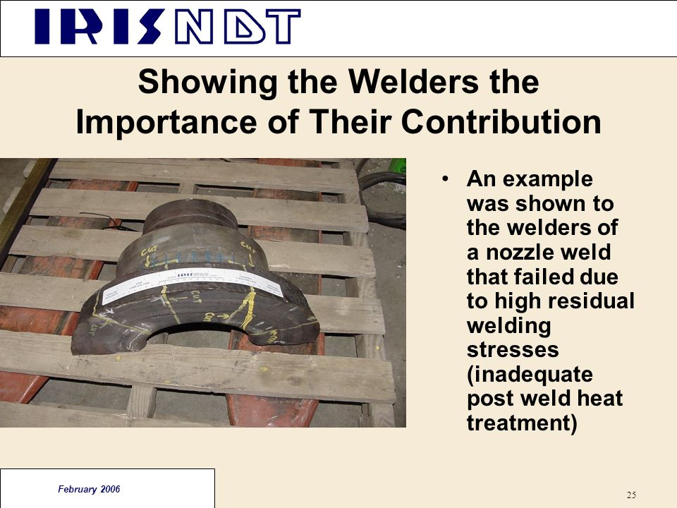 Showing the Welders the Importance of Their Contribution