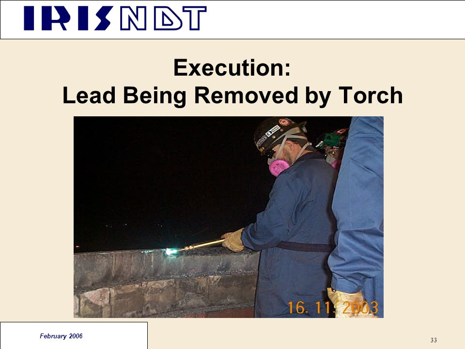 Execution: Lead Being Removed by Torch