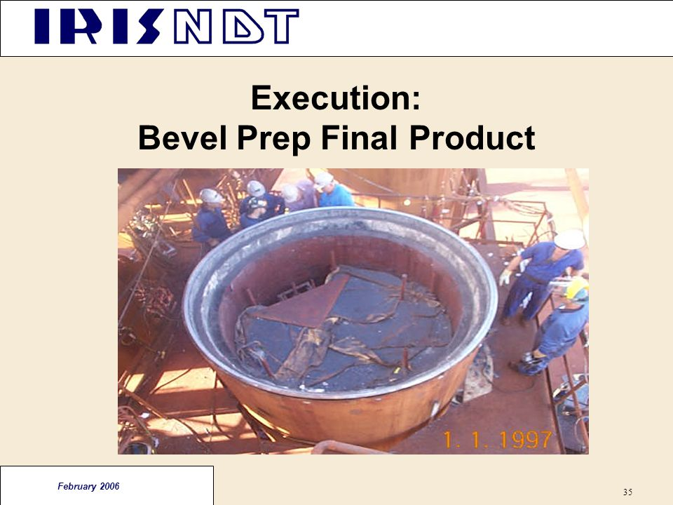 Execution: Bevel Prep Final Product