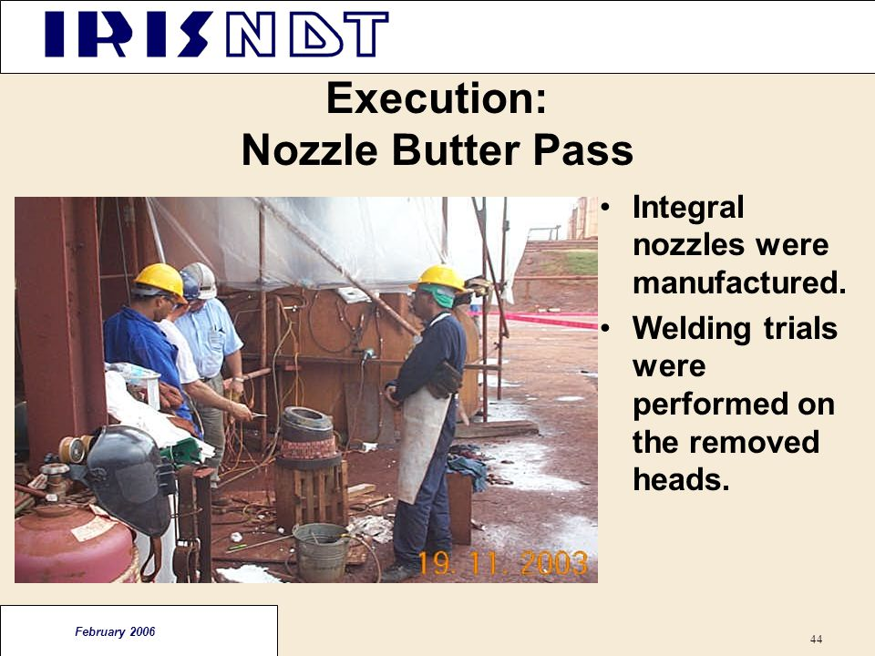 Execution: Nozzle Butter Pass
