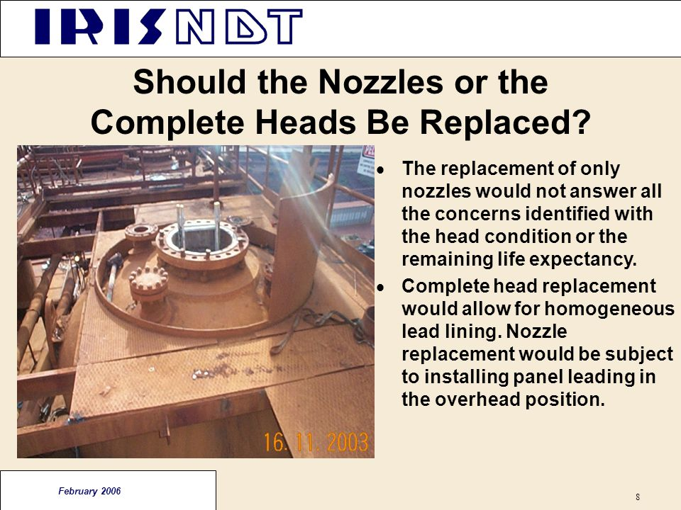 Should the Nozzles or the Complete Heads Be Replaced