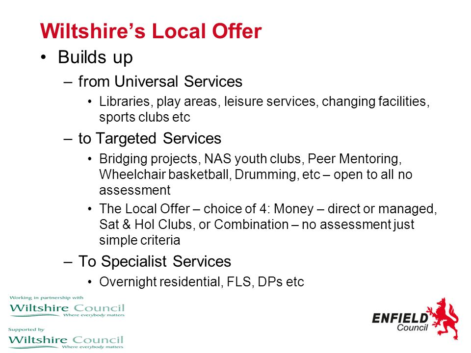 Wiltshire's Local Offer