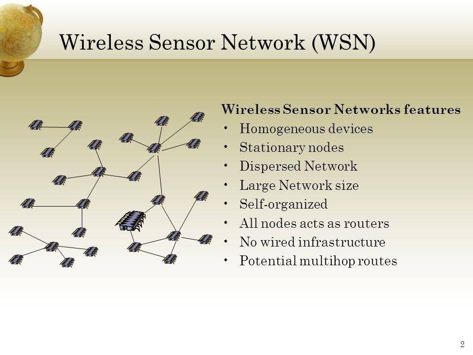 Wireless Sensor Network (WSN)