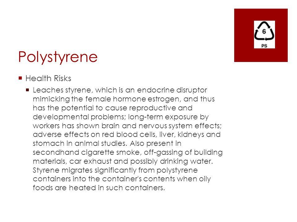Polystyrene Health Risks