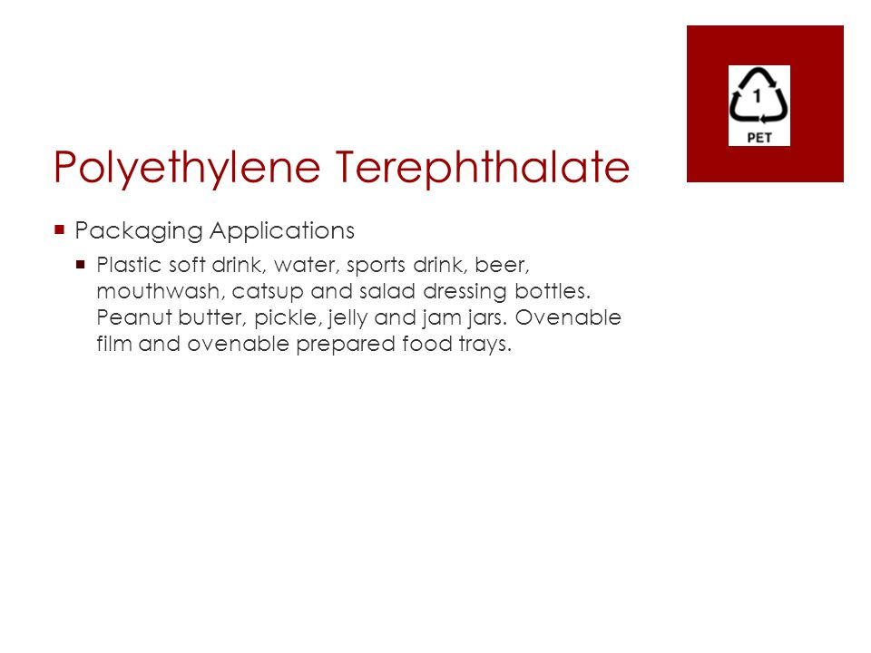 Polyethylene Terephthalate