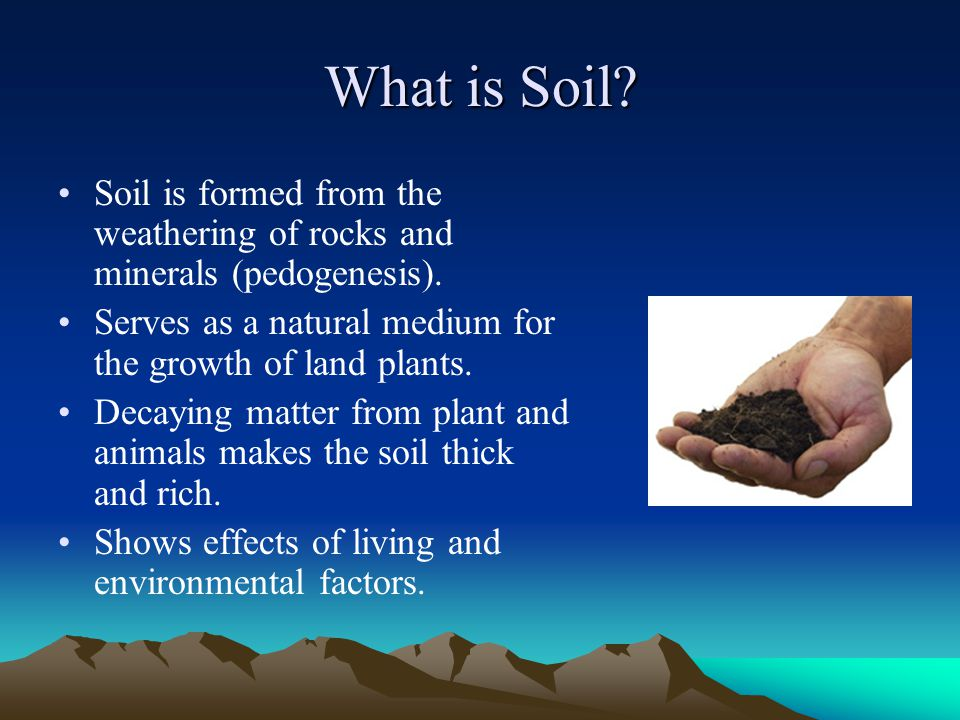 Formation and characteristics of hawaii s soils ppt for Importance of soil minerals