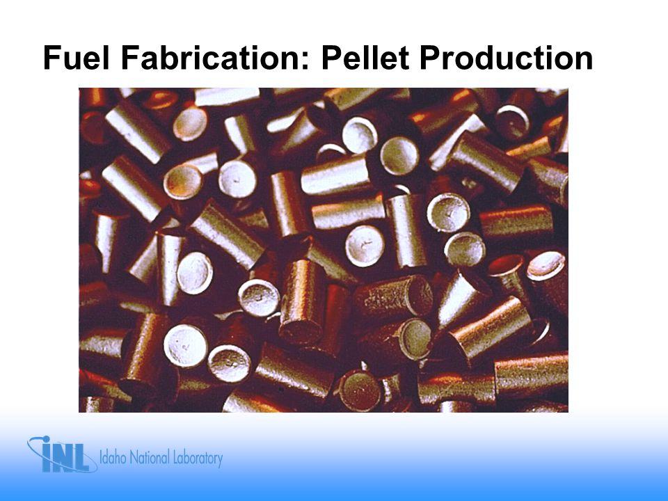 Fuel Fabrication: Pellet Production