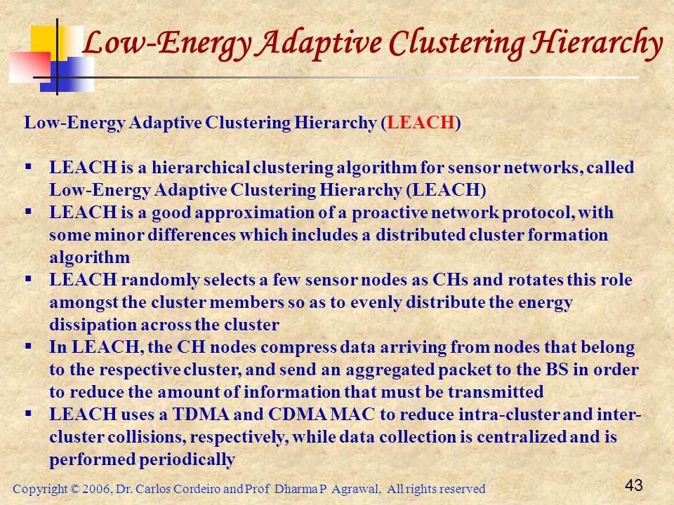 Low-Energy Adaptive Clustering Hierarchy