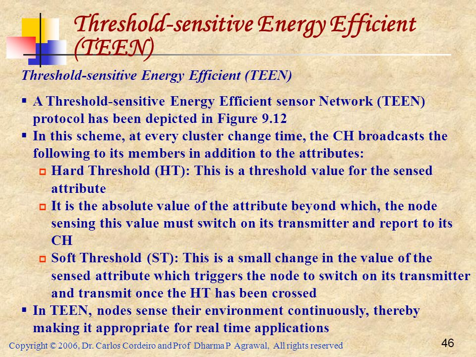 Threshold-sensitive Energy Efficient (TEEN)