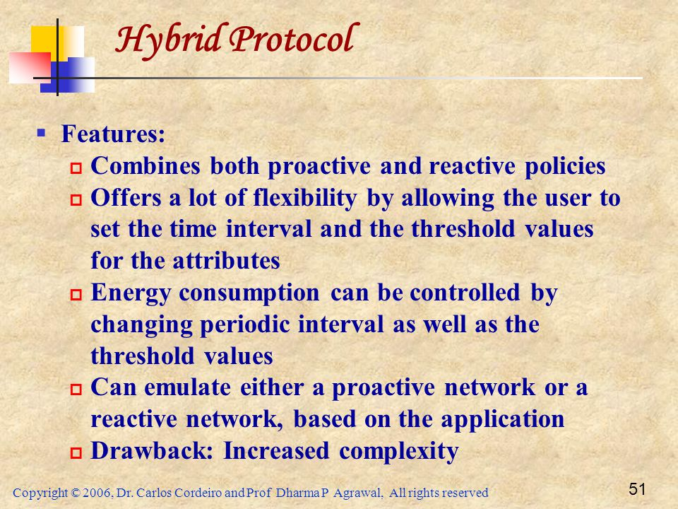 Hybrid Protocol Features: