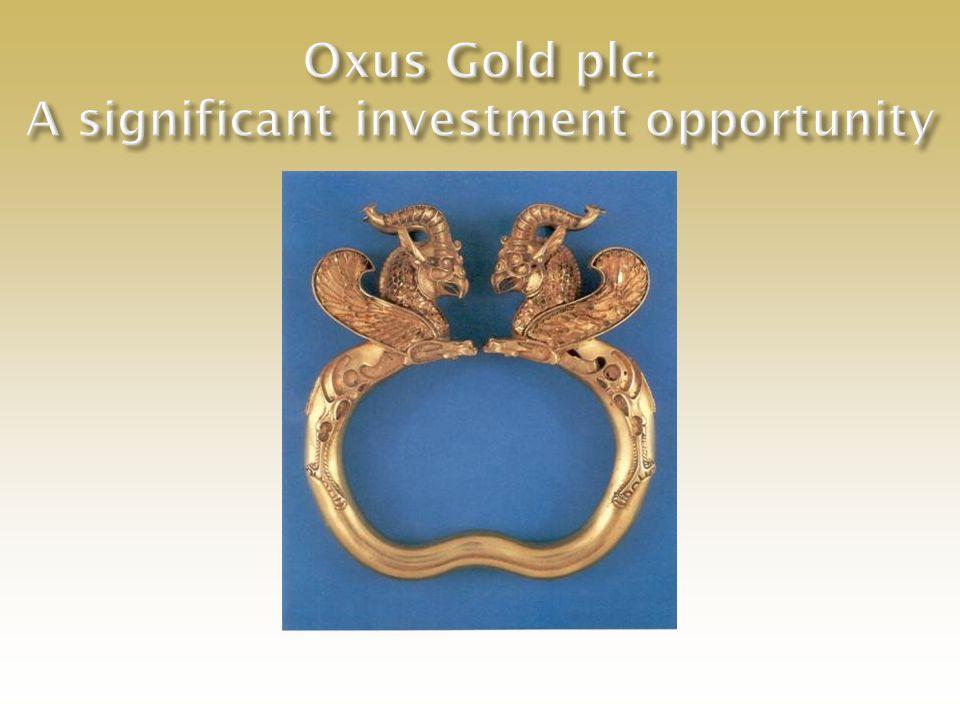 Appendices Oxus Gold Plc - London - January 2008
