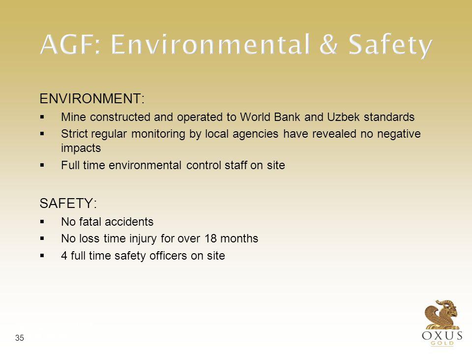 AGF: Training & Social TRAINING:
