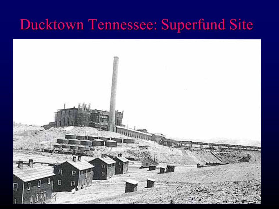 Ducktown Tennessee: Superfund Site