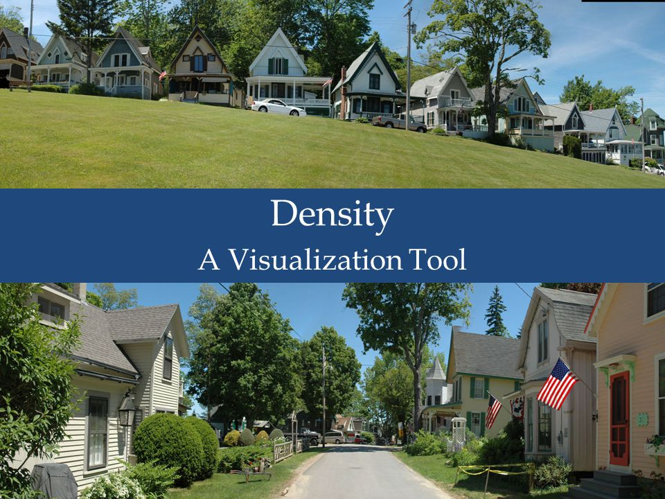 Density A Visualization Tool