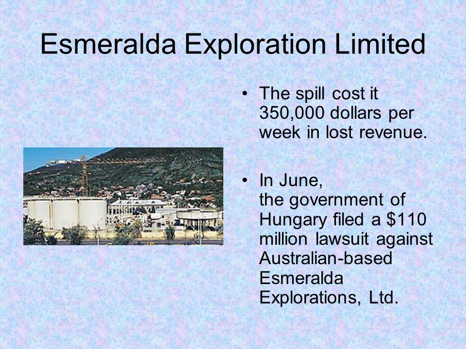 Esmeralda Exploration Limited