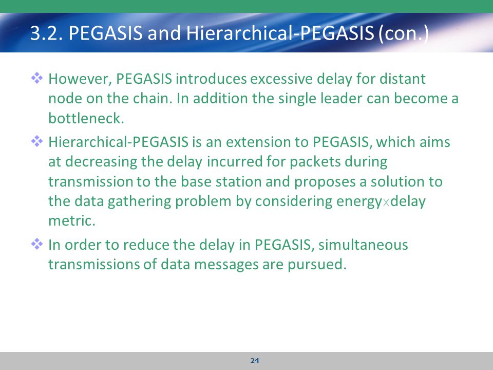 3.2. PEGASIS and Hierarchical-PEGASIS (con.)