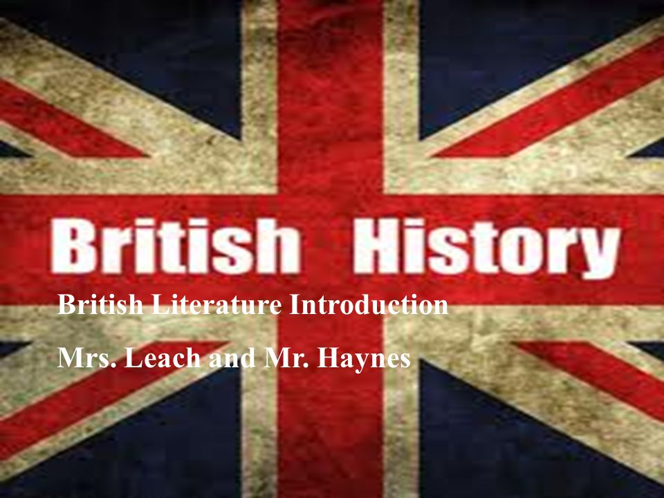 British Literature Introduction
