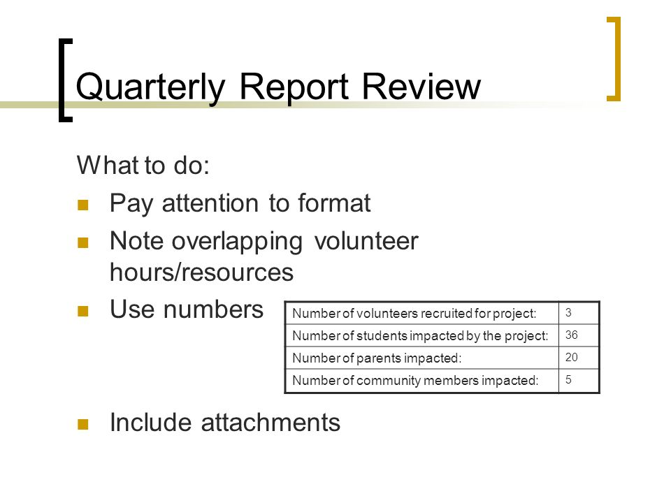 Project Quarterly Report Template Fire Activity Report Sample