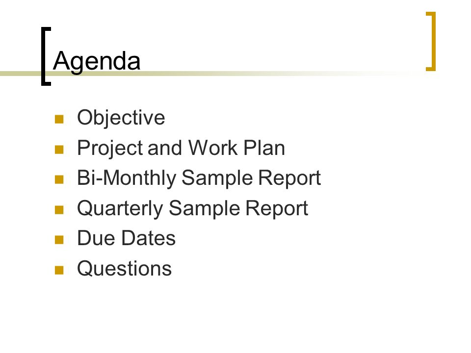 Project Quarterly Report Template  Project Completion Report