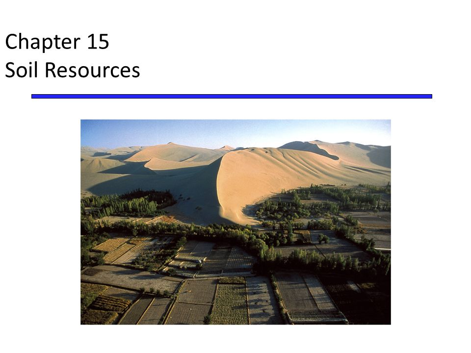 Chapter 15 soil resources ppt video online download for What is soil resources